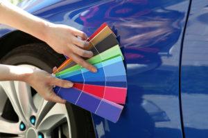 couleur de voiture