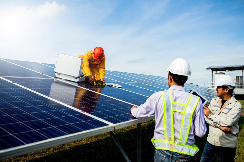 entretien panneau solaire